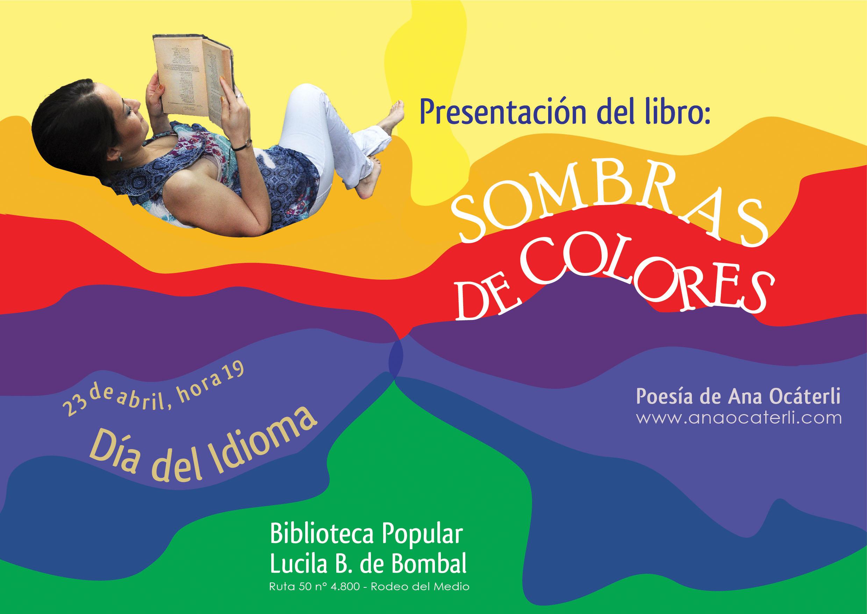 Presentación del libro de poesía Sombras de Colores