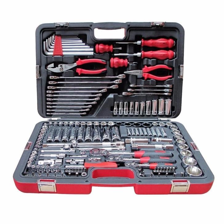 caja de herramientas de dos partes