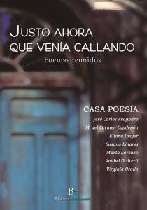 Antología de poemas Casa Poesía